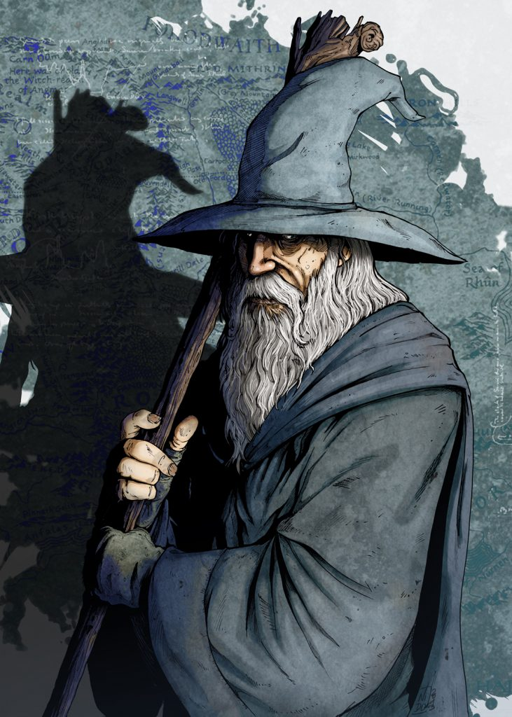 Gandalf picture - Creative Commons